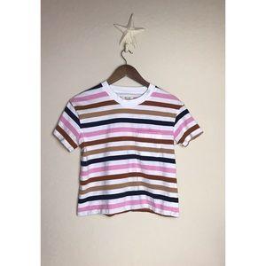Madewell Striped short sleeve tee 💖